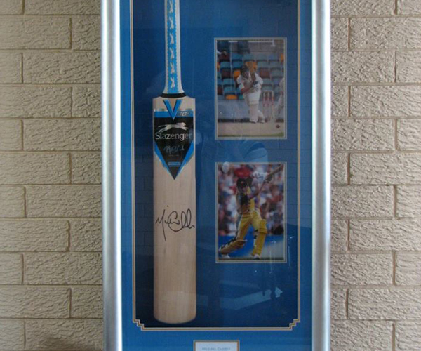 Sports Memorabilia Framed Ipswich, Canvas Stretching Springwood, Custom Framing Gold Coast, Poster Framing Logan City, Picture Framing SE QLD